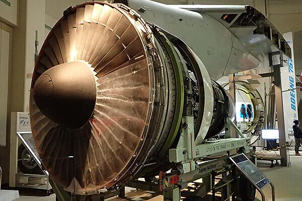 ボーイング747のエンジン