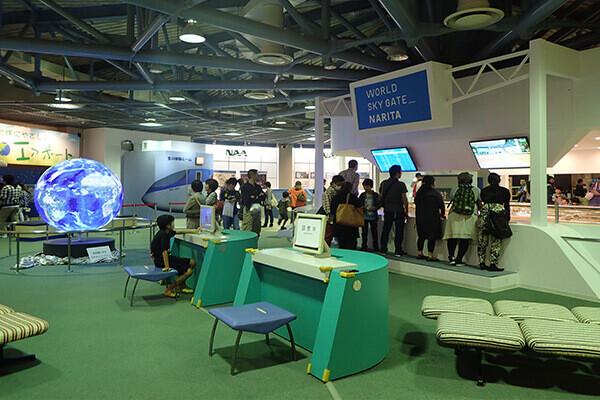航空科学博物館2F